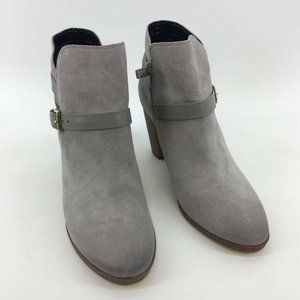 Cole Haan Womens Hayes Strap Boots Booties Gray